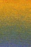 Textura listrada de lãs Fotos de Stock