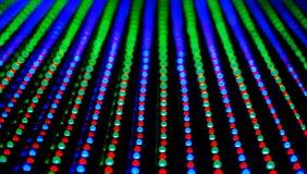 Textura llevada del panel de la pantalla Imágenes de archivo libres de regalías