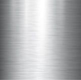 Textura lustrada do metal Fotos de Stock Royalty Free