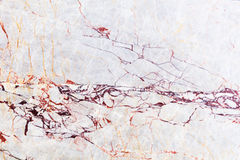 Textura mable blanca Foto de archivo libre de regalías