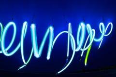 Textura macia do fundo dos tubos de néon Imagem de Stock Royalty Free
