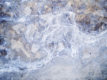 Textura macra - metal - descolorada imagen de archivo