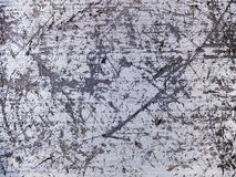 Textura macra - metal - rasguñada Imagen de archivo