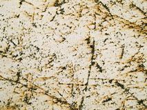 Textura macra - metal - rasguñada y oxidada Fotografía de archivo