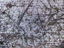 Textura macra - metal - rasguñada Fotografía de archivo libre de regalías