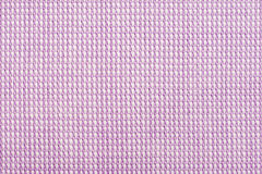 Textura macra rosada púrpura de la camisa de algodón Foto de archivo