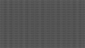Textura macro conduzida do vetor da tela Teste padrão sem emenda da tela do diodo do Rgb ilustração stock