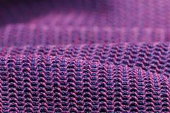 Textura macro cor-de-rosa e roxa da tela Imagens de Stock