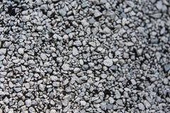 Textura macro de uma telha Graveled branca fotografia de stock royalty free