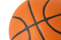 Textura macro do basquetebol Foto de Stock