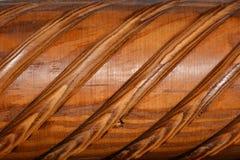 Textura - madera barnizada Fotografía de archivo