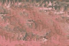 Textura marcado vermelha de uma superfície cinzenta com marcas riscadas ilustração royalty free