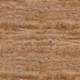 Textura marrón clara del travertino del contraste Fondo cuadrado inconsútil foto de archivo libre de regalías