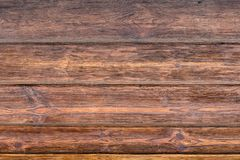 Textura marrón de madera del grano, vista superior del fondo de madera de la pared de la tabla de madera imagenes de archivo