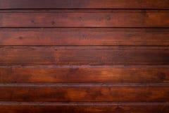 Textura marrón de madera del grano, vista superior de la tabla de madera, fondo de madera de la pared imagen de archivo libre de regalías