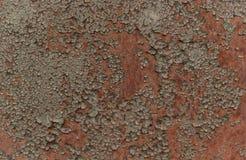 Textura marr?n oxidada del hierro, cerca vieja verde con la peladura de la pintura Papel pintado texturizado para el dise?o libre illustration