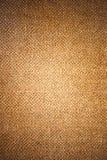 Textura marrom da tela Fotografia de Stock Royalty Free