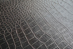 Textura marrom de couro Fotos de Stock Royalty Free