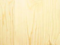 Textura marrom de madeira clara Foto de Stock Royalty Free