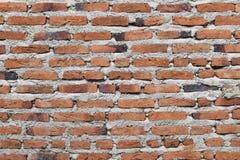 Textura marrom velha do teste padrão do tijolo do detalhe do papel de parede fotografia de stock royalty free