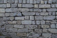 Textura masonry Fragmento da parede antiga horizontal imagens de stock royalty free