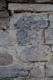 Textura masonry Fragmento da parede antiga vertical imagem de stock