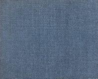 Textura: matéria têxtil azul Fotografia de Stock Royalty Free