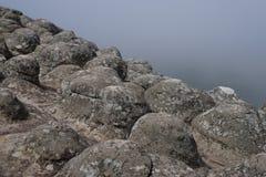Textura material de piedra de la roca Fotografía de archivo