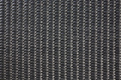 Textura material tejida nilón negro Fotos de archivo libres de regalías