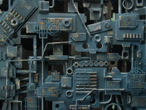 Textura mecánica Imagen de archivo libre de regalías