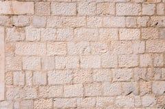 Textura medieval de la pared Imágenes de archivo libres de regalías