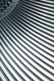 Textura metálica cinzenta Fotografia de Stock
