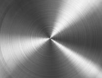 Textura metálica circular Foto de archivo