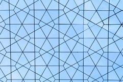Textura metálica da telha do espelho Fotos de Stock