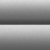 Textura metálica gris Imagen de archivo