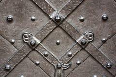 Textura metálica medieval Fotos de archivo libres de regalías