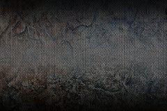 Textura metálica preta do fundo da malha Imagens de Stock