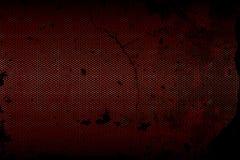 Textura metálica preta do fundo da malha Fotografia de Stock