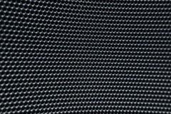Textura metálica redonda borrada da rede da grade de Grey Macro Imagem de Stock