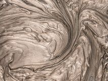 Textura met?lica de la pintura con tacto art?stico y creativo ilustración del vector