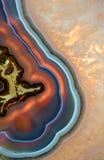 Textura mineral abstrata Imagens de Stock
