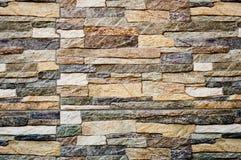 Textura moderna del fondo de la pared de piedra Foto de archivo libre de regalías