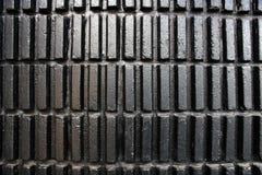 Textura moderna negra de la pared Fotografía de archivo libre de regalías