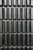 Textura moderna negra de la pared Imágenes de archivo libres de regalías