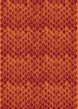 Textura modular Two-tone da pele de serpente Foto de Stock