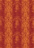 Textura modular Two-tone da pele do réptil Foto de Stock Royalty Free