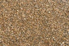 Textura mojada de la arena Fotografía de archivo