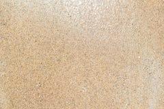 Textura mojada de la arena Fotos de archivo