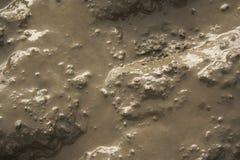 Textura mojada del fango Fotografía de archivo libre de regalías