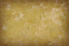 Textura mottled amarela suja do fundo fotografia de stock